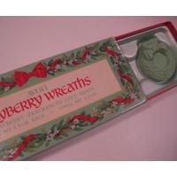 AVON雑貨 ボックス付き・エイボン「AVON・Bayberry Wreaths」クリスマスリース型ソープ