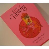小さなギフトブック ビンテージ・ギフトブック「ホールマーク・ALL ABOUT TAURUS/1970年」おうし座さんの本