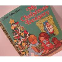 クリスマス絵本 Little Golden Book・ビンテージ絵本「My Christmas Treasury」