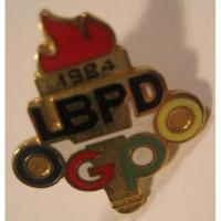 オリンピック ビンテージ・オリンピックピンズ「1984年・ロスアンジェルスオリンピック・LBPD」【L】