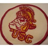 ハンドメイド用タグ&パッチ&アップリケ&ワッペン ビンテージワッペン「USC」