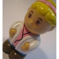 レゴ・プレイモビル・フィッシャープライスフィギュアなど 小さなフィギュア「ブロンドの女医さん」