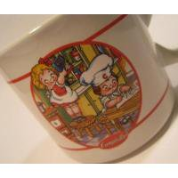 アドバタイジング・組織系 Campbell`s/キャンベル「キッチンヘルパーズ」陶器製マグ