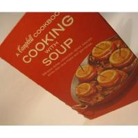 レシピブック ビンテージクッキングブック「Campbell/Cooking with Soup」キャンベル【A】