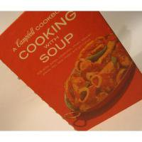 レシピブック ビンテージクッキングブック「Campbell/Cooking with Soup」キャンベル【B】