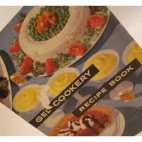 レシピブック ビンテージクッキングブック「Gel Cookery」ゼラチンを使ったお料理