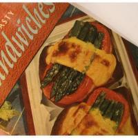 レシピブック ビンテージクッキングブック「500 Tasty Sandwiches」サンドイッチレシピ本