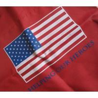 トートバッグ ビンテージトートバッグ「Helping Our Heroes・アメリカンフラッグ」