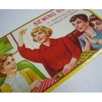 その他 ビンテージ・「Sewing Susan」ニードルケース入りニードル
