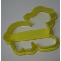 イースター イースター・イエロー・羊ちゃん・プラスチック・クッキーカッター
