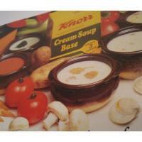 レシピブック ビンテージレシピ小冊子「Creative cream soup recipes from Knorr」クノール・スープレシピ集