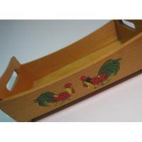 キッチン&リビング 木製・ルースター・トレイボックス
