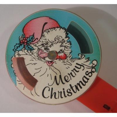 クリスマス ビンテージ・Merry Christmas・サンタクロース・トイ