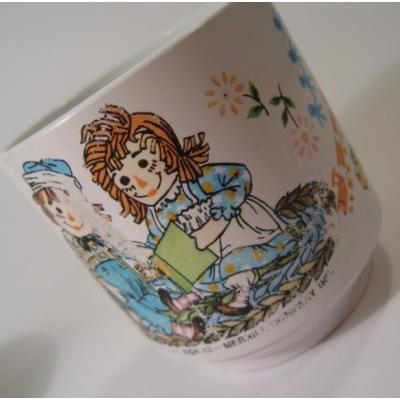 キャラクター アウトレット・1969年・ラガディアン&アンディ・プラスチックカップ