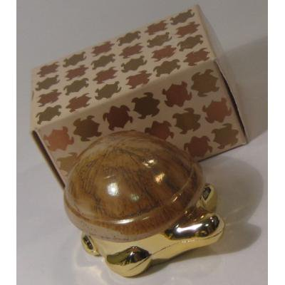 ヴィンテージ雑貨 AVON・エイボン雑貨「プレシャス・タートル」クリームコンテイナー・オリジナルボックス付
