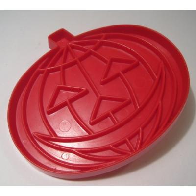 オーナメント&デコレーション タッパウェア・プラスチック製クッキーカッター「レッドパンプキン」