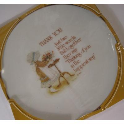 キャラクター デッドストック箱入り・米国輸出用日本製ホーリーホビー陶器製・デザート&デコレーションプレート