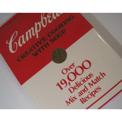 レシピブック ビンテージレシピブック「Campbell's Creative Cooking・キャンベルレシピブック・1万9千レシピ掲載」