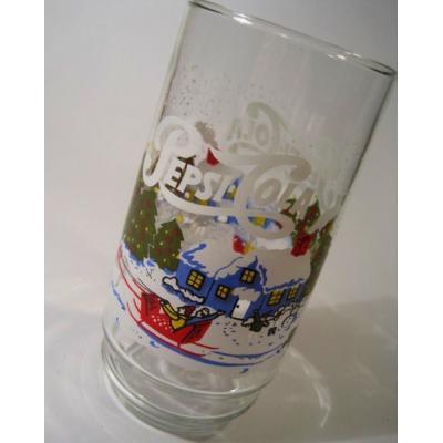 アドバタイジング・組織系 Pepsi-Cola・ペプシ・クリスマスシーズングラス【A】