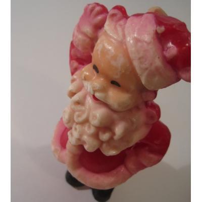 キッチン&リビング ビンテージクリスマス雑貨「サンタクロースキャンドル」