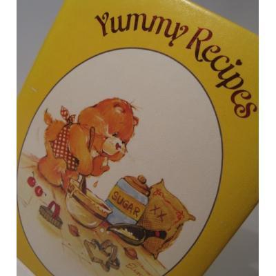 キッチン&リビング ビンテージケアベア「1986年ケアベア・Care Bear」Yummy Recipes・レシピ整理用ブック