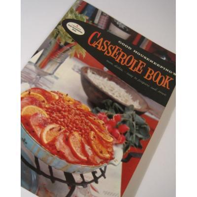 レシピブック  ビンテージレシピブック「Casserole Book」キャセロールのお料理