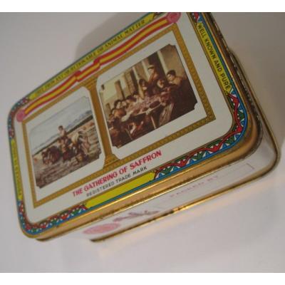 ビンテージフード系TIN缶「スペイン製サフラン・The Gathering off Saffron」