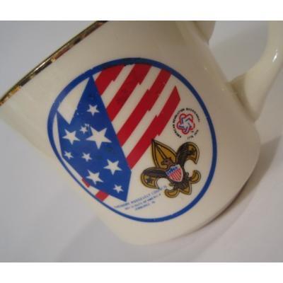 米国製陶器・1976年ボーイスカウトマグ