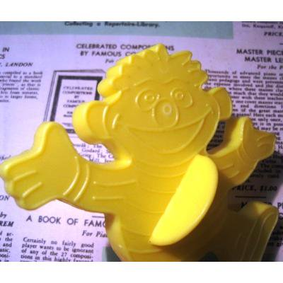 キャラクター ビンテージクッキーカッター「セサミストリート・アーニー」
