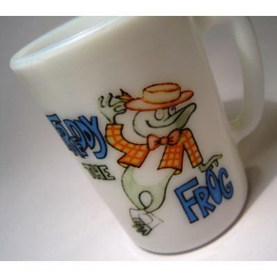 ヴィンテージ雑貨 AVON・Freddy The Frogマグ