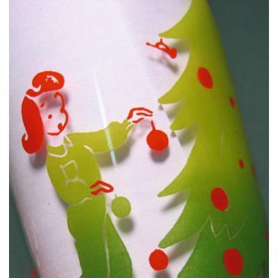 キッチン&リビング フェデラルグラス クリスマス ツリーの飾りつけ
