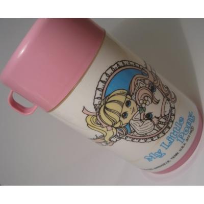 キャラクター Aladdin・アラジン「1986年・ピンク・マイリトルポニー・My Little Pony」サーモス・水筒