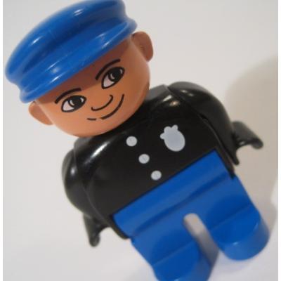 レゴ・プレイモビル・フィッシャープライスフィギュアなど ビンテージレゴフィグ「警察官」