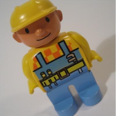 レゴ・プレイモビル・フィッシャープライスフィギュアなど ビンテージレゴフィグ「ボブ・ザ・ビルダー」