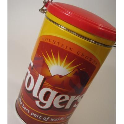 コーヒー ビンテージTIN缶「Folger Coffee・コーヒー」