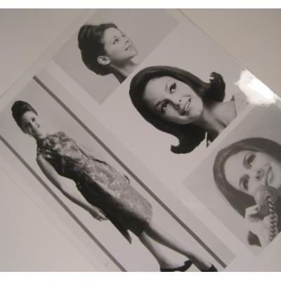 ジャンク雑貨 ビンテージフォト「Nancy Roth・4分割の写真」