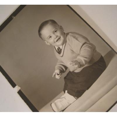 ジャンク雑貨 ビンテージフォト「小さな男の子」