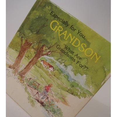 小さなギフトブック ビンテージ・ミニブック「Especially for you, Grandson」