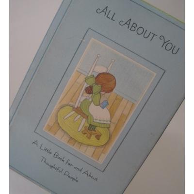 小さなギフトブック ビンテージ・ミニブック「1967 年・ホールマーク・All About You」