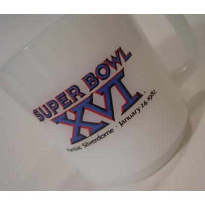 グラスベイク グラスベイク・スーパーボウルXVI・Super Bowl XVIマグ
