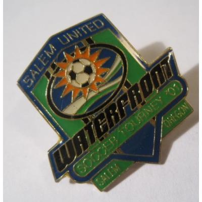 アドバタイジング・組織系 ヴィンテージピンズ「スポーツピンズ Salem United Waterfront・サッカー」
