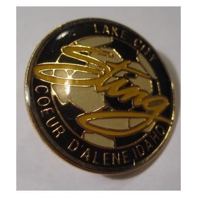 アドバタイジング・組織系 ヴィンテージピンズ「スポーツピンズ Lake City Coeur D'alene Idaho・サッカー」