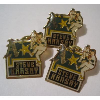 アドバタイジング・組織系 ヴィンテージピンズ「スポーツピンズ Steve Khrshy A・野球」