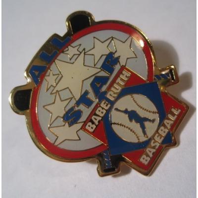 アドバタイジング・組織系 ヴィンテージピンズ「スポーツピンズ All Star Babe Ruth Base Ball・野球」