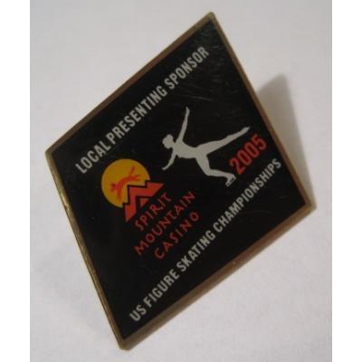 アドバタイジング・組織系 ヴィンテージピンズ「スポーツピンズ・US Figure Skating Championships・アイススケート 」