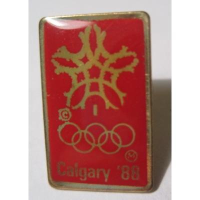 オリンピック ヴィンテージピンズ「スポーツピンズ・Calgary '88・オリンピック 」