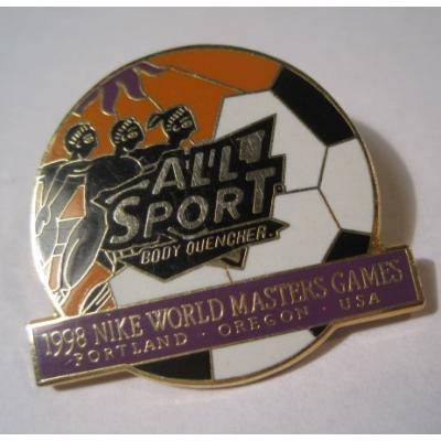 アドバタイジング・組織系 ヴィンテージピンズ「スポーツピンズ・All Sports 1998 NIKE World Master Games」