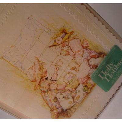 キャラクター 封筒付・未使用・ホーリーホビー・Holly Hobbie・ブランクカード8枚セット「ティーパーティー」