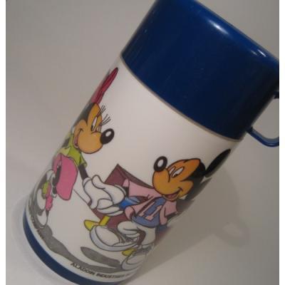 キャラクター Aladin・アラジン「ダイナーにいるミッキー&ミニー」サーモス・水筒