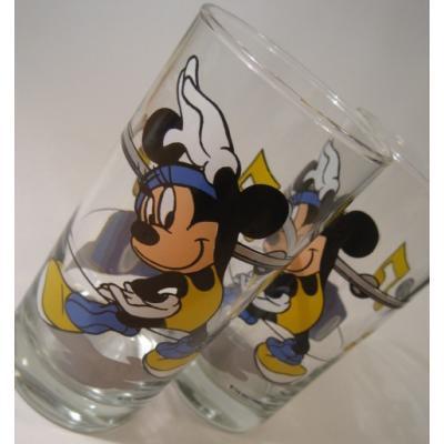 キャラクター ミニーマウス・エクササイズ・トールグラス